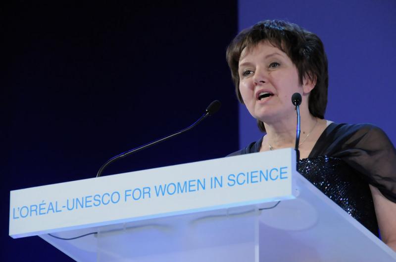 Eugenia Kumacheva. Credit: zimbio.com