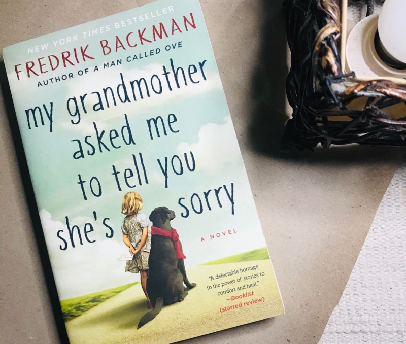 My Grandmother Asked Me to Tell You She's Sorry, by Fredrik Backman. Credit: carousell.ph
