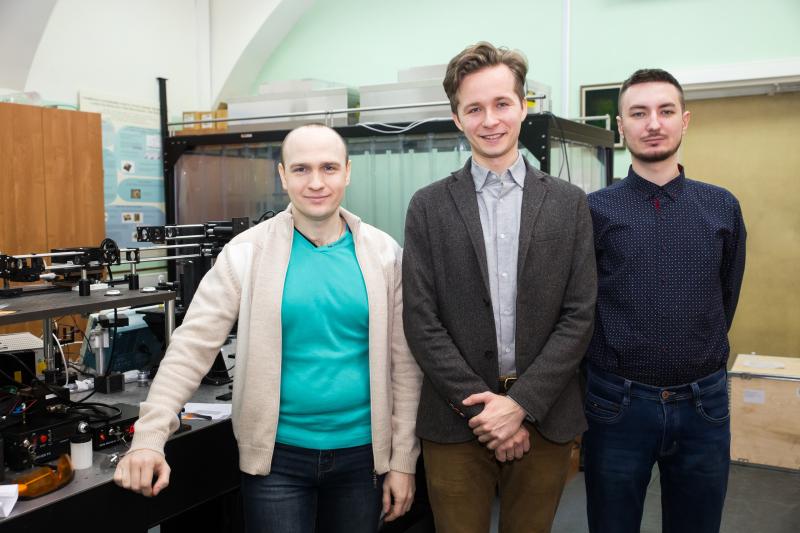 Максим Сергеев, Роман Заколдаев и Владимир Рымкевич