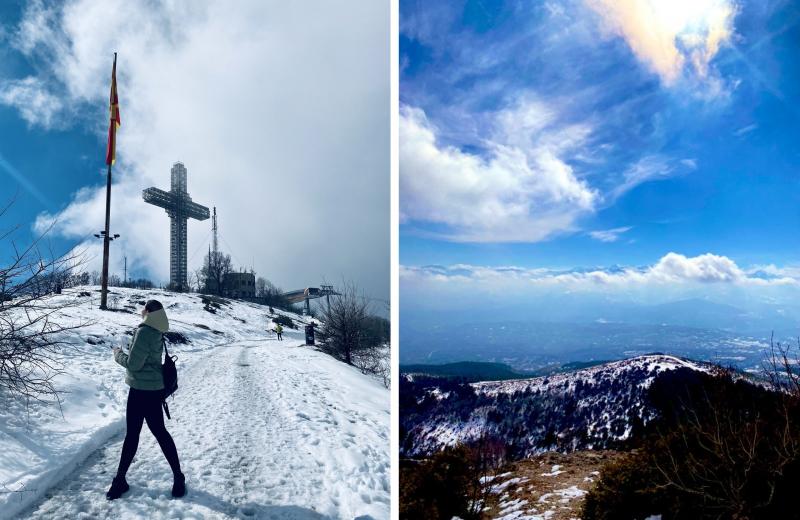 Tatiana Statsenko in North Macedonia. Photo courtesy of the subject