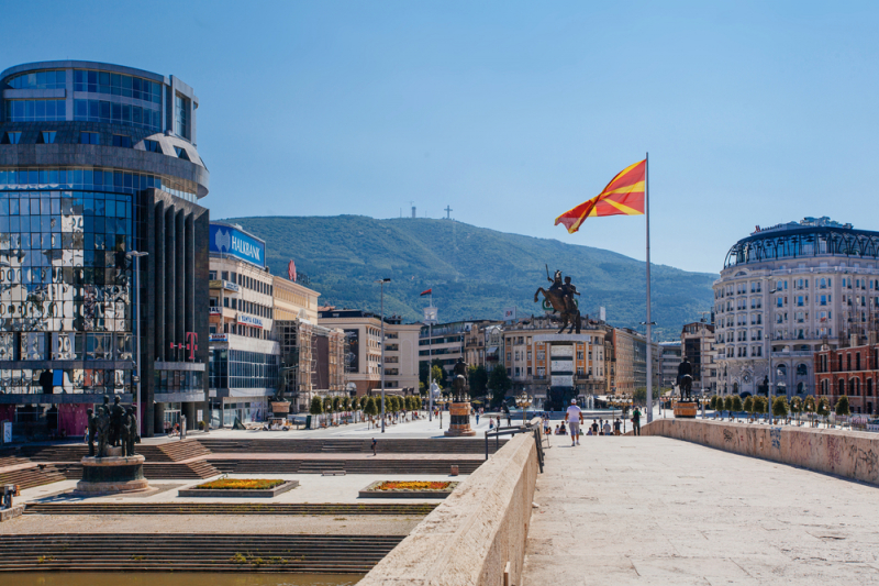 Skopje, North Macedonia. Credit: shutterstock.com