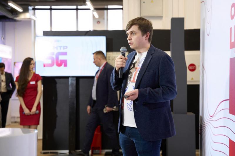 Александр Морено на 5G MTS StartUp Hub. Фото из личного архива