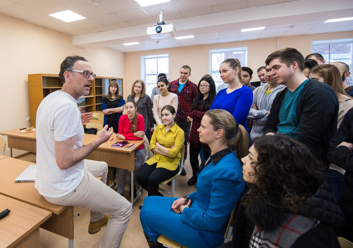 Paul Bourne held a Master Class for ITMO University Students