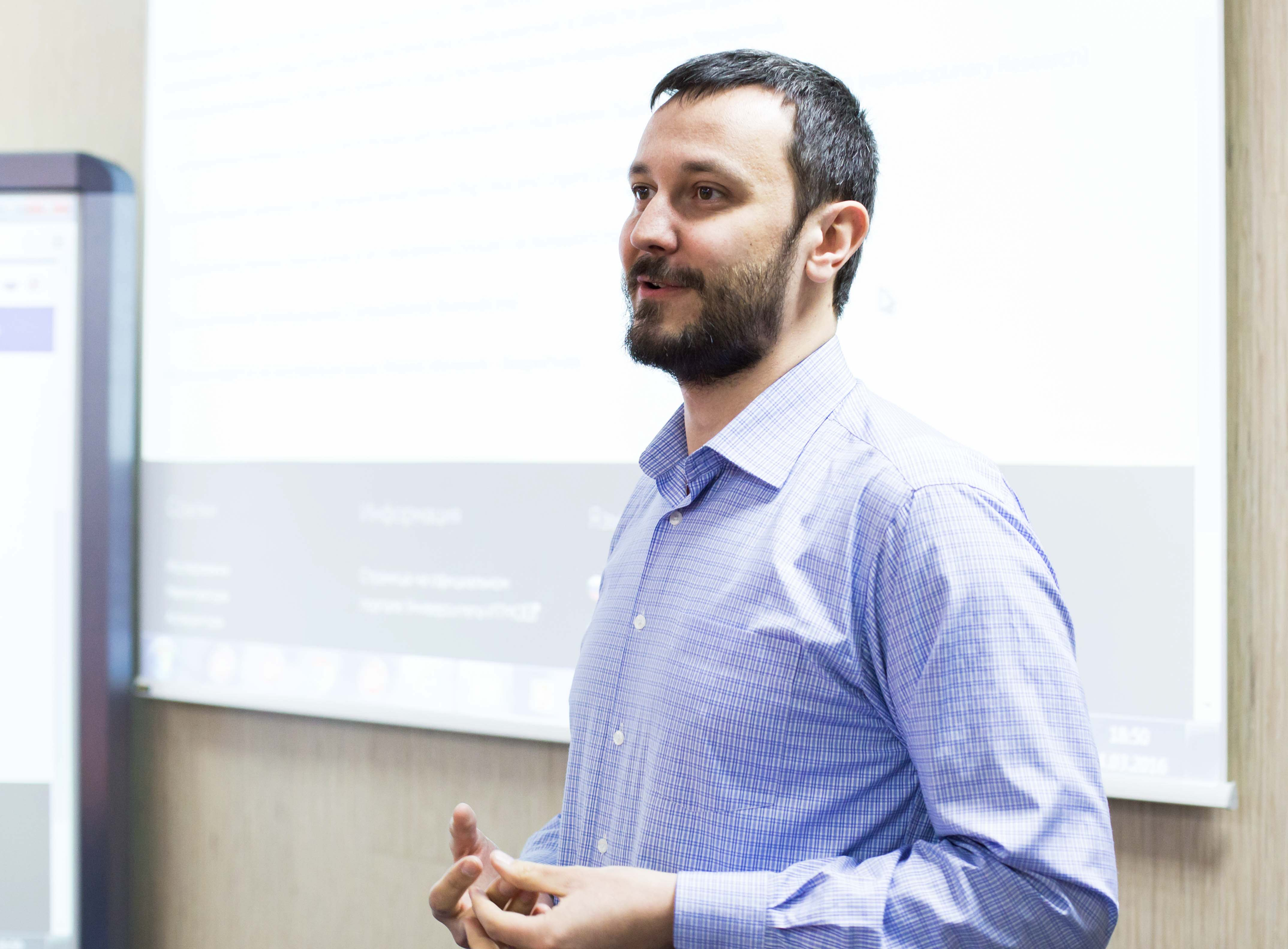 Sergei Kovalchuk, associate professor of High-Performance Computing Department