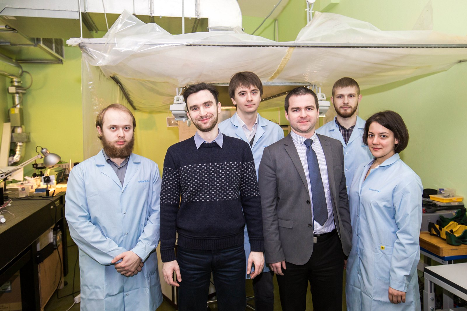 Researchers of ITMO Univeristy`s Center of Laser Physics