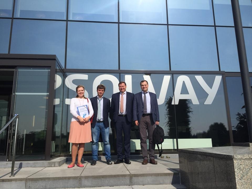 Университет ИТМО. Представители Технопарка посетили Бельгию и Люксембург с бизнес-миссией