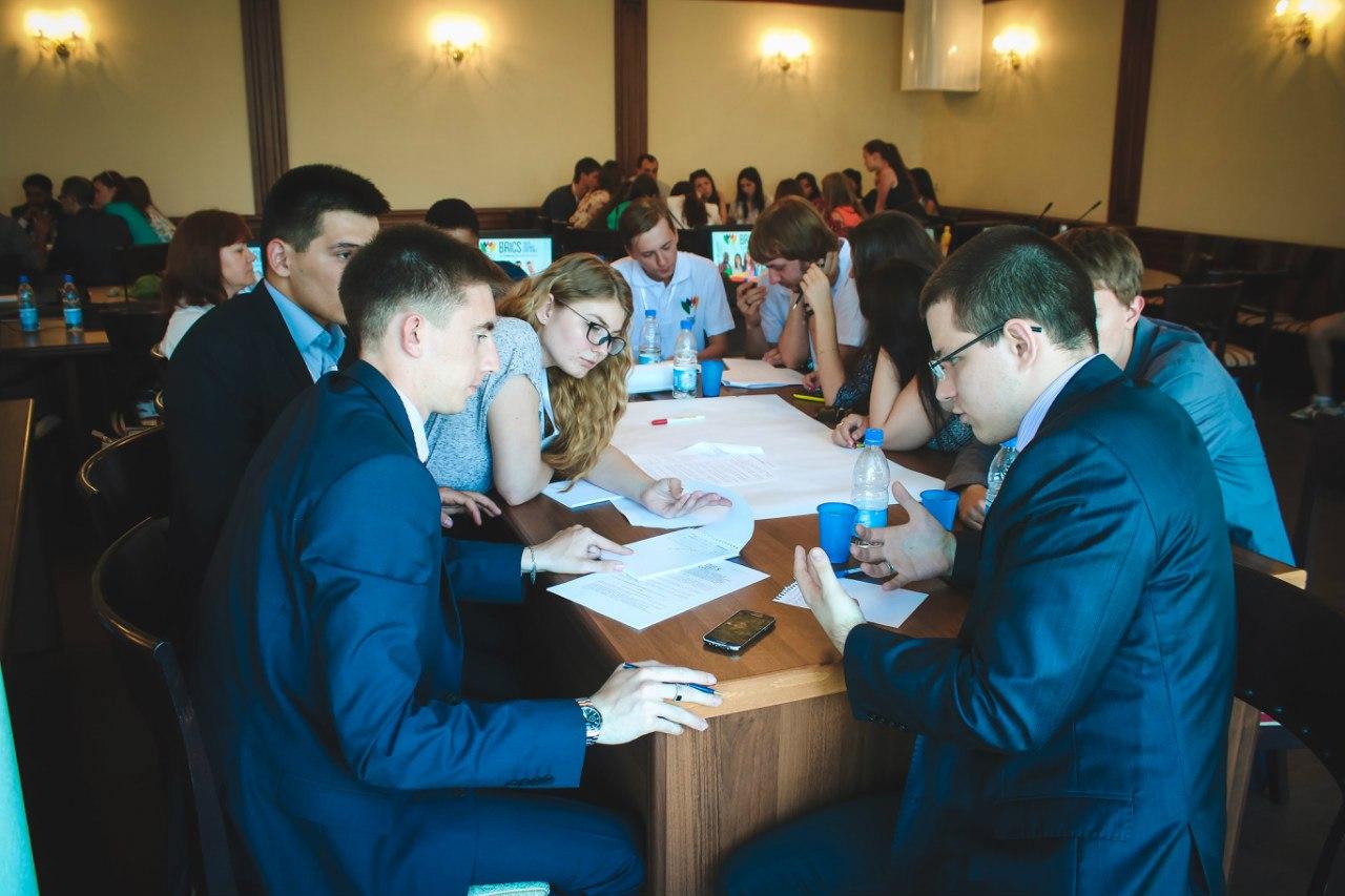 Участники конференции молодежной Ассамблеи БРИКС. Источник: социальные сети