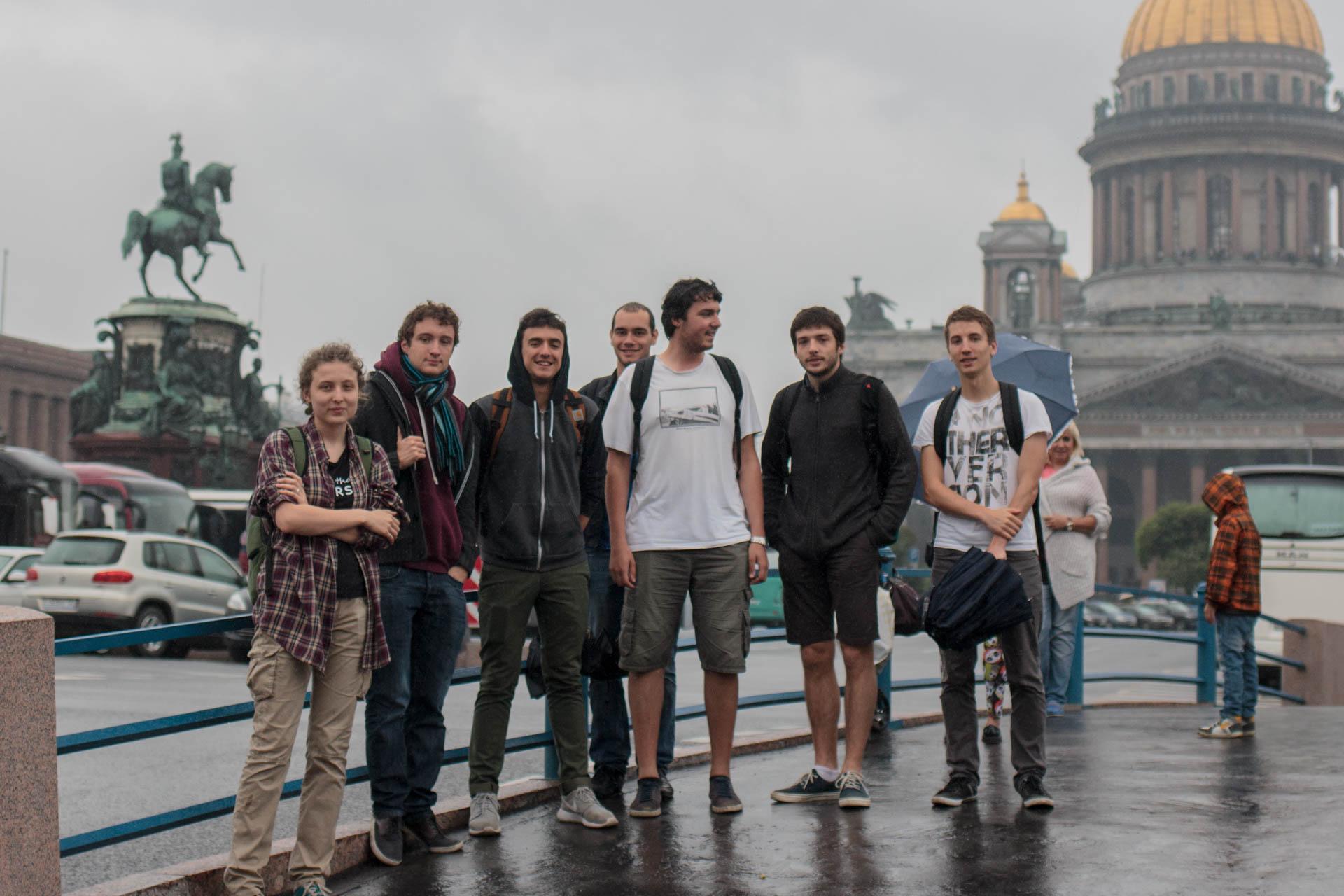 Университет ИТМО. Французские студенты впервые в Санкт-Петербурге