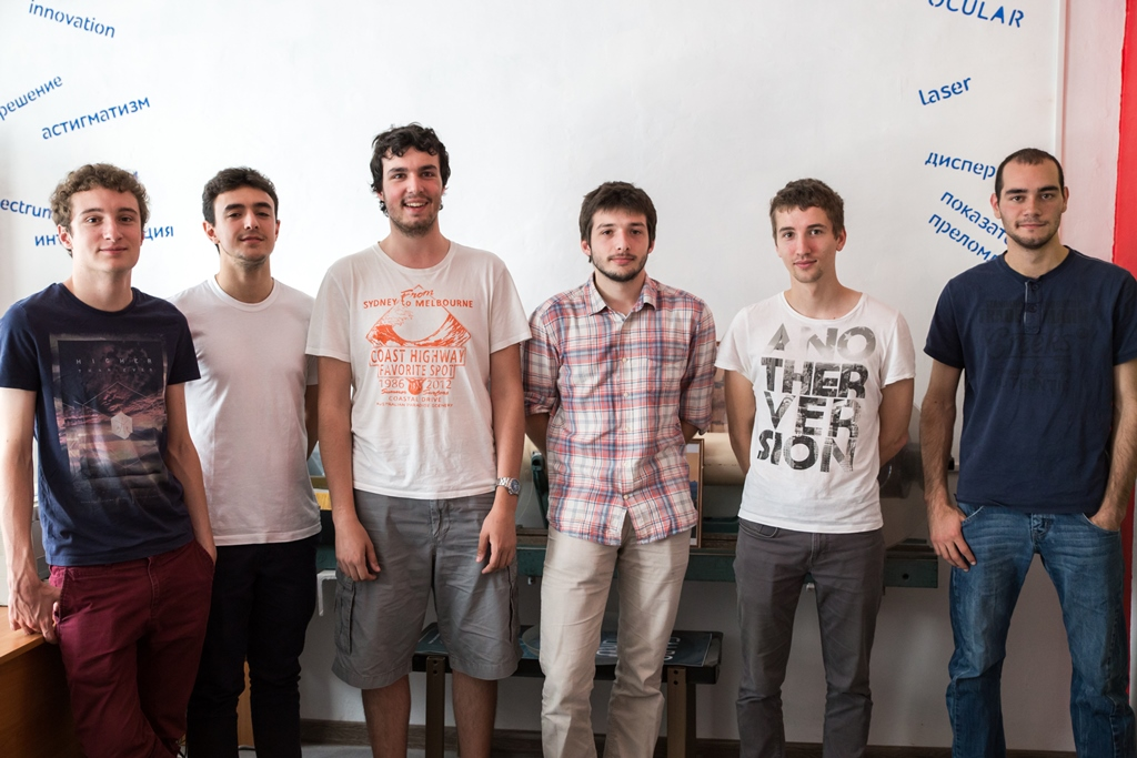 Университет ИТМО. Французские студенты из IOGS