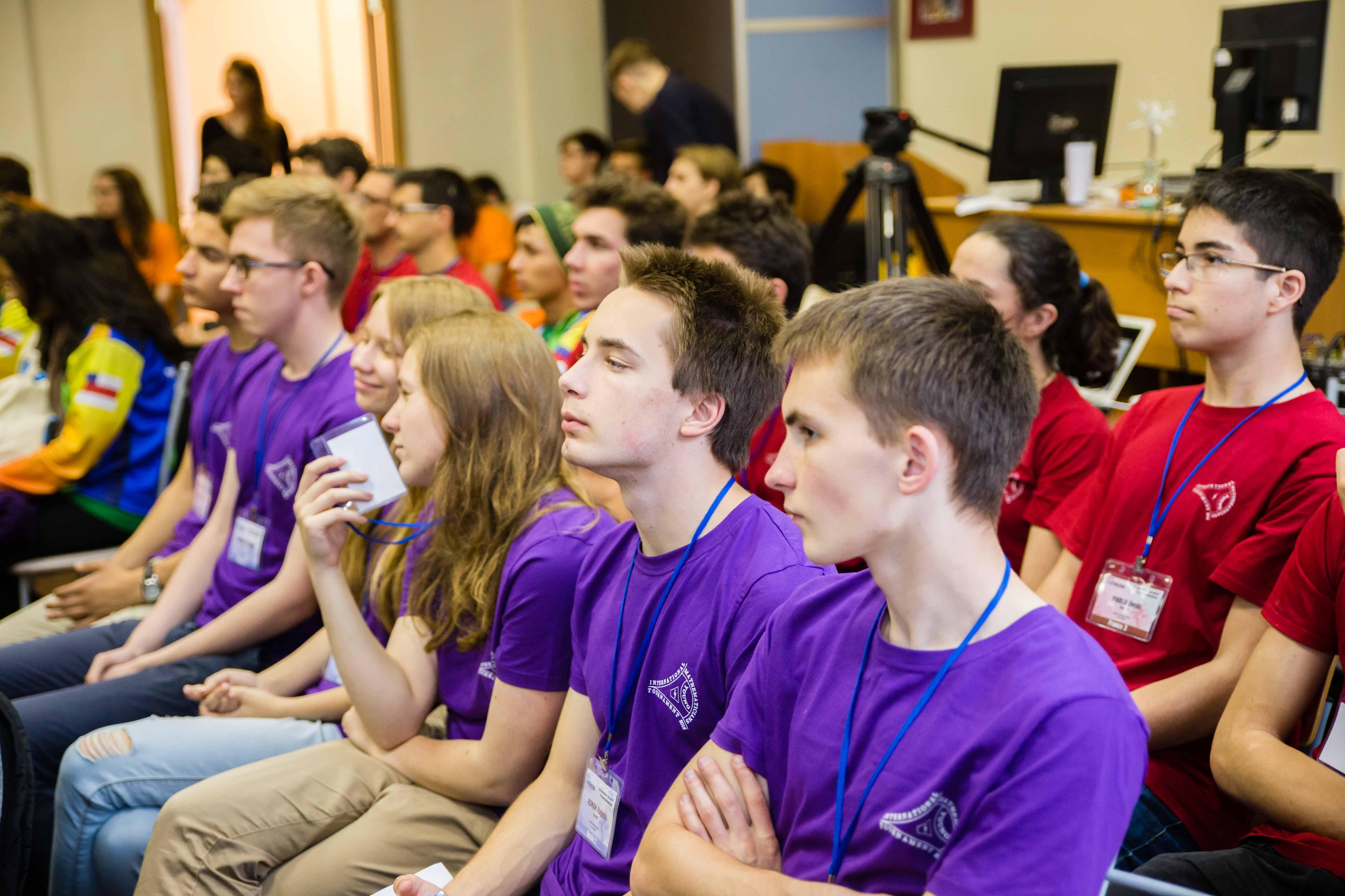 Университет ИТМО. В Петербурге впервые проходит Международный турнир юных математиков