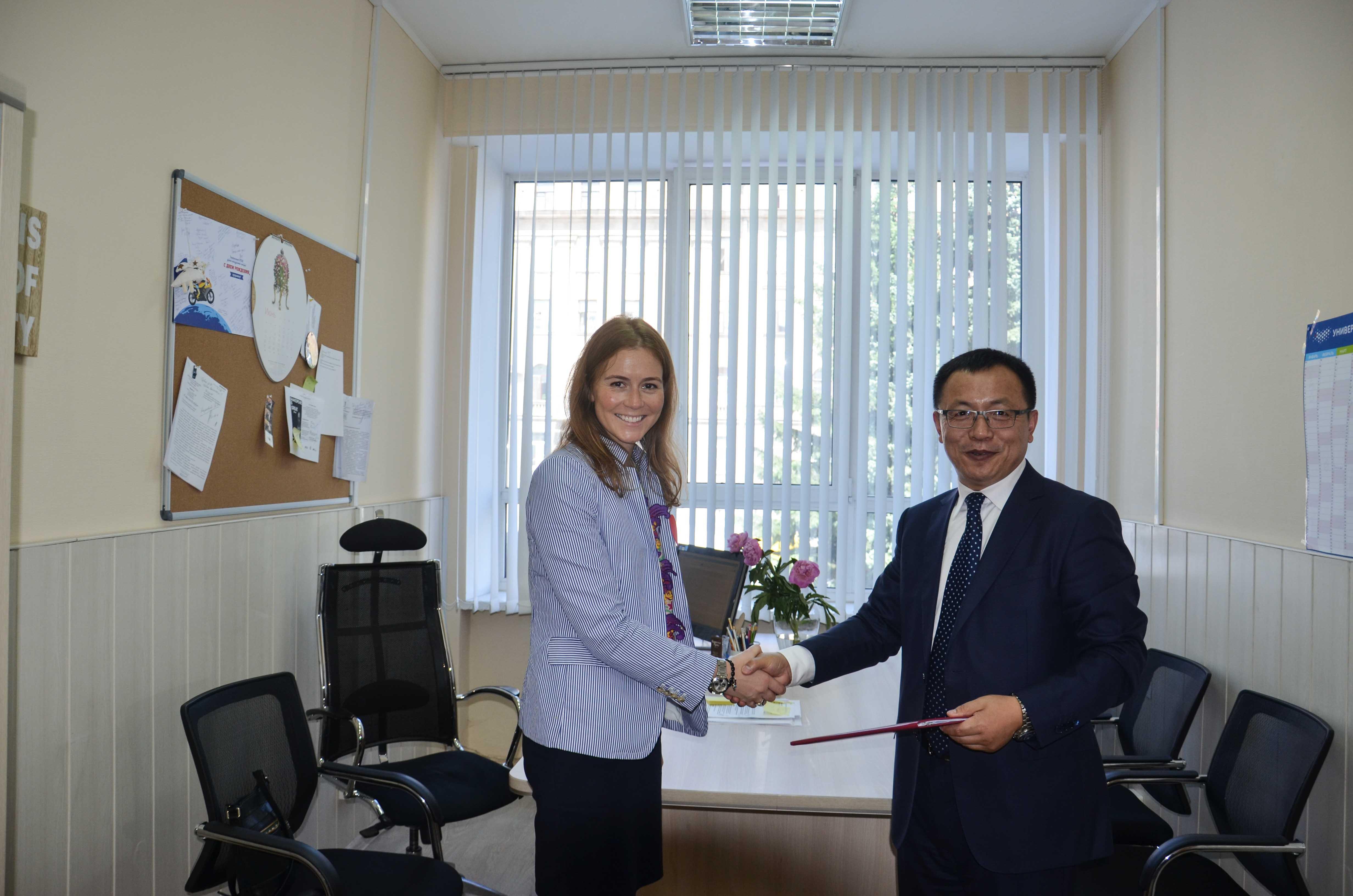 Университет ИТМО. Подписание соглашения с Чанчуньским политехническим университетом