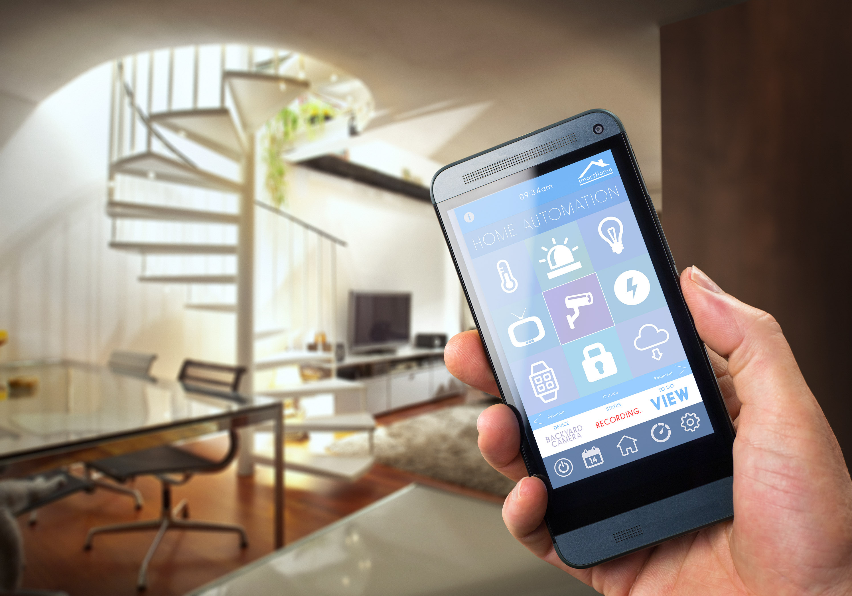 Smart House Phone safe smart houses: soon you will live in one too