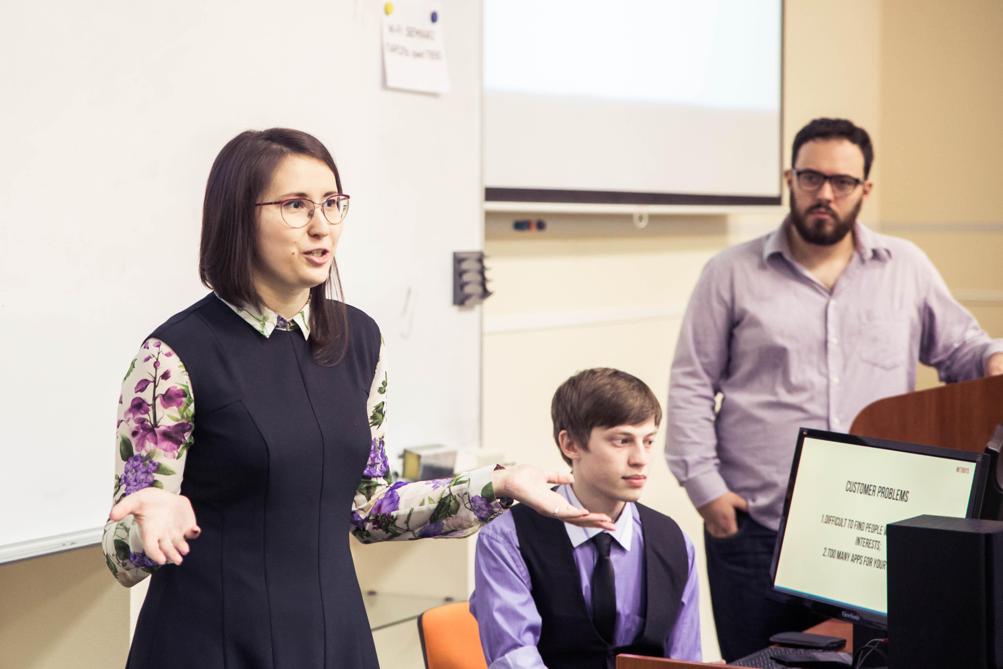 Университет ИТМО. Дарья Санкова, проект Netbots