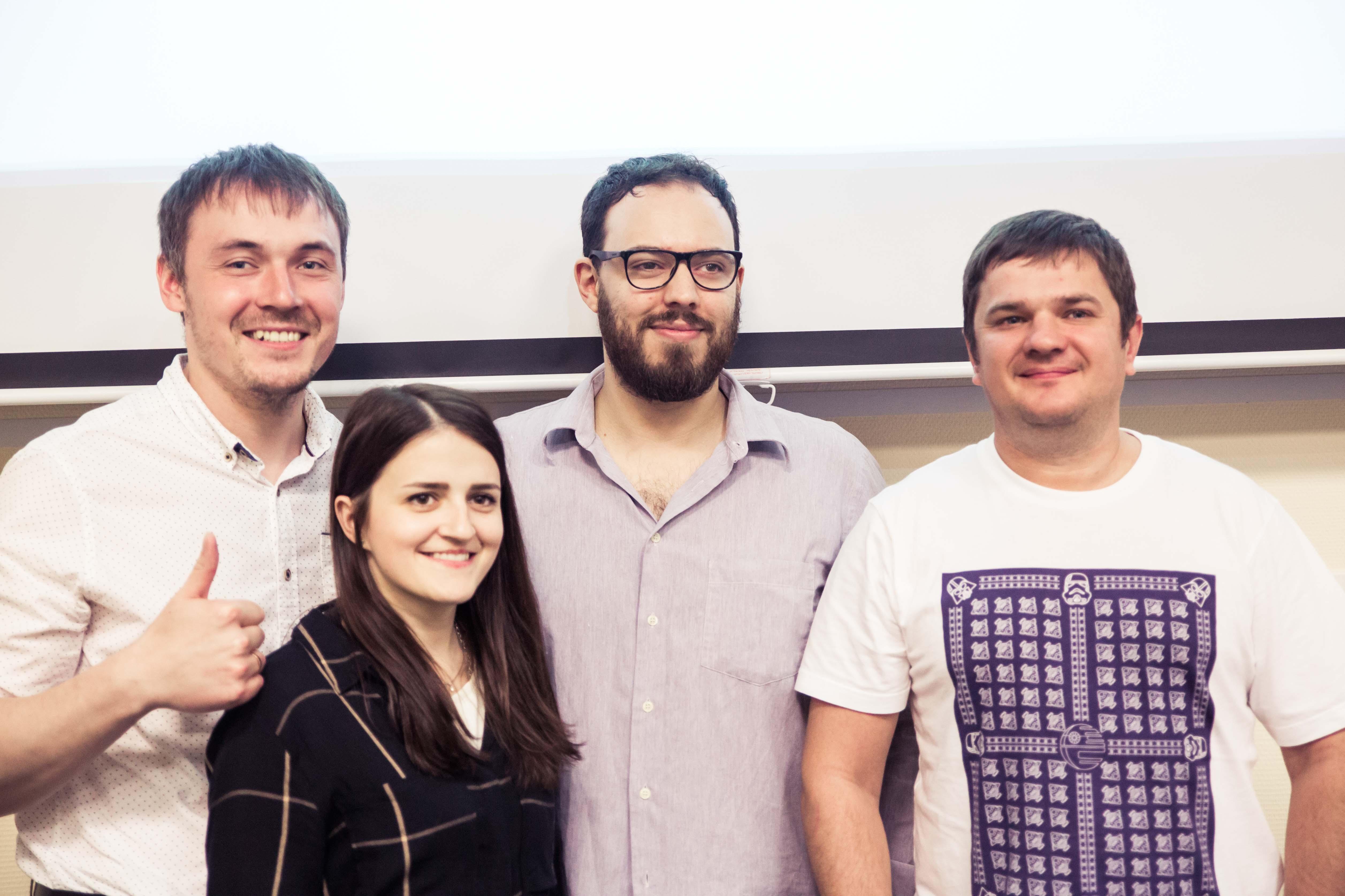 Университет ИТМО. Матиас Пенас и команда проекта Wokka Lokka