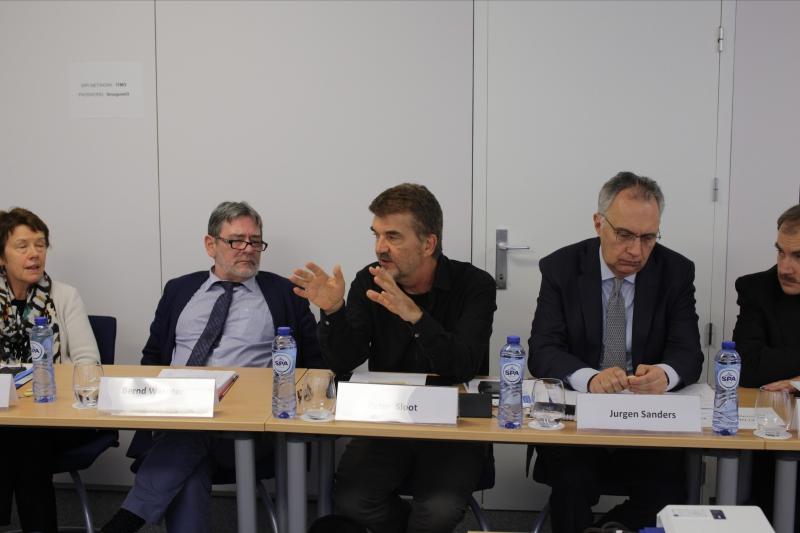 Университет ИТМО. Заседание Международного совета. Питер Слоот (в центре)