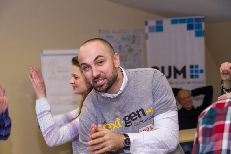 Юрий Куприянов. Менеджер SAP University Alliances Россия/СНГ. Design Thinking коуч.