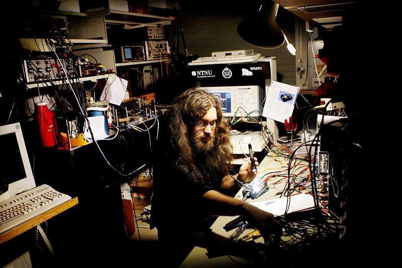Вадим Макаров в лаборатории квантового хакинга