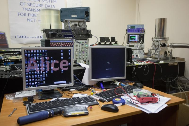 Квантовая криптографическая система в Университете ИТМО
