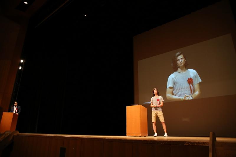 Арсений Серока на конференции в Токио
