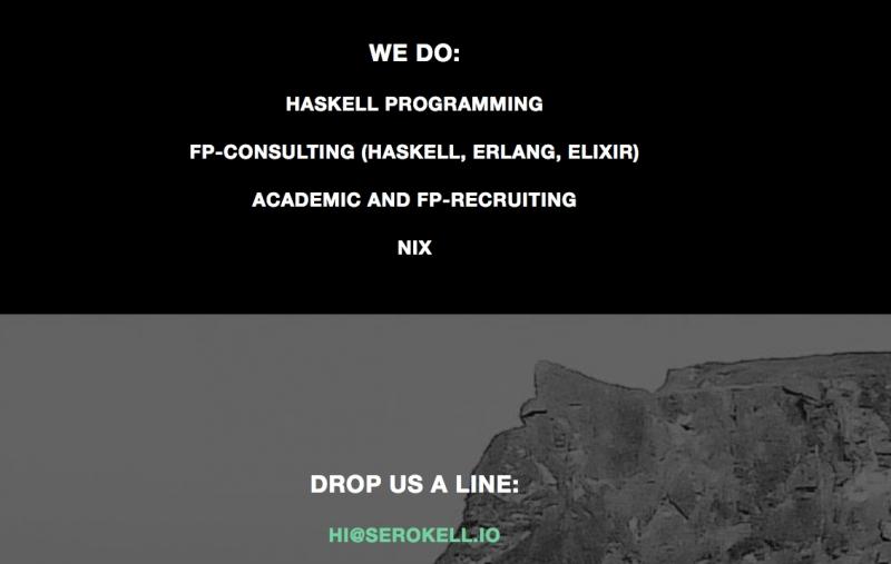 Сайт компании Serokell
