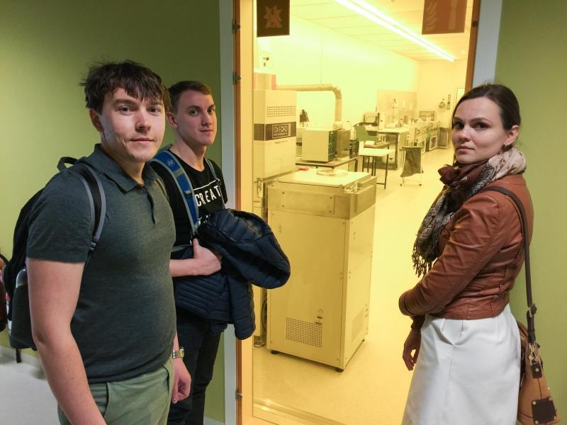 Победители Всероссийского инженерного конкурса в области нанотехнологий для студентов и аспирантов в Университете KU Leuven. Источник: rusnano.com