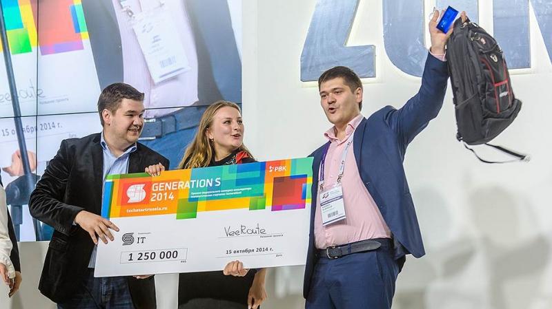 Михаил и Владислав Кудиновы на финале GenerationS в 2014 году. Источник: социальные сети