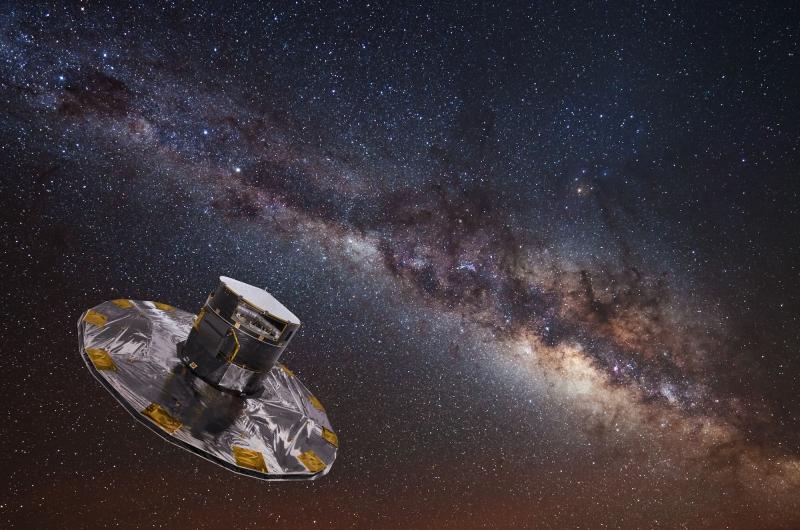 Космический телескоп GAIA. Источник: hsto.org