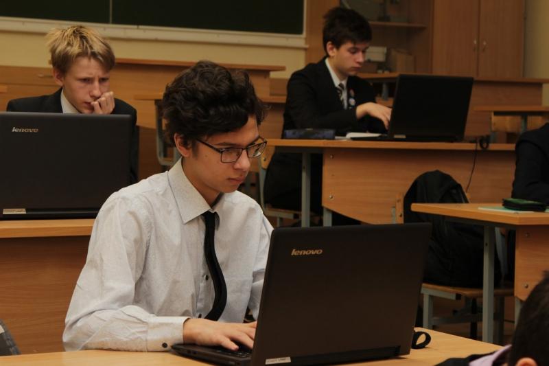 Учащиеся лицея №30