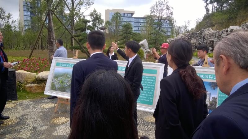 Кампусы, где живут преподаватели и студенты Университета городов Гуйян и Ляочень