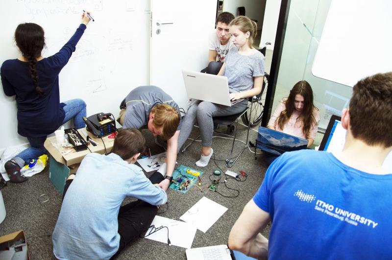 Работа команды Университета ИТМО в рамках хакатона