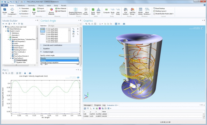 Программа COMSOL Multiphysics