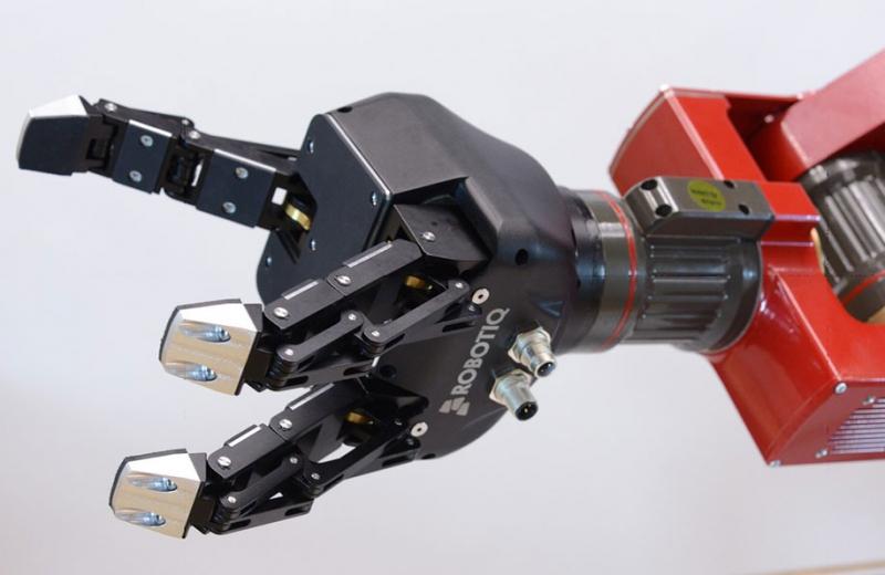 Захватное устройство. Источник: delta-robotics.ru