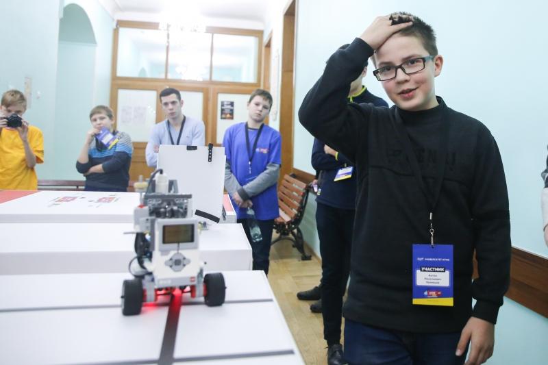 Турнир двух столиц по робототехнике 2017. Отбор в Санкт-Петербурге