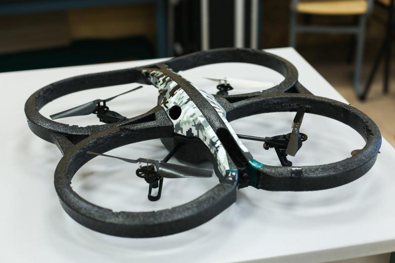 Робот, с которым команда Университета ИТМО выступала на соревнованиях
