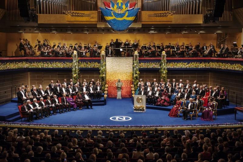 Церемония награждения Нобелевской премией