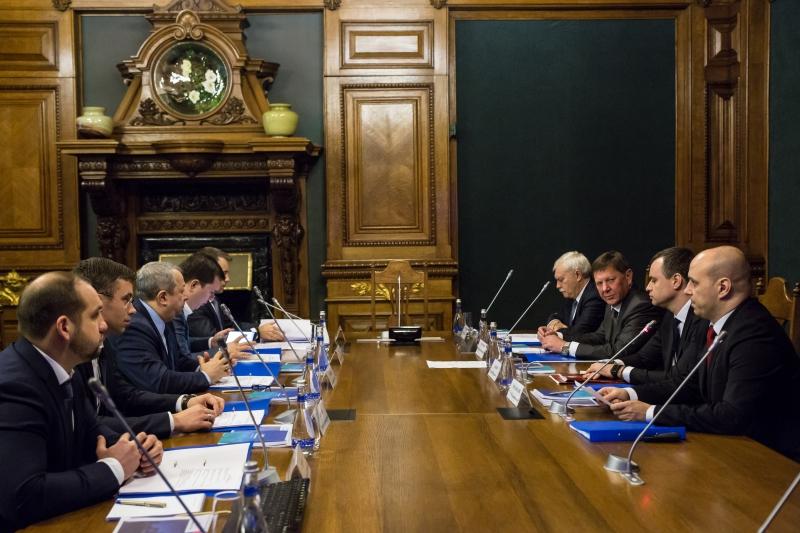 Заседание Совета директоров АО «ИТМО Хайпарк»