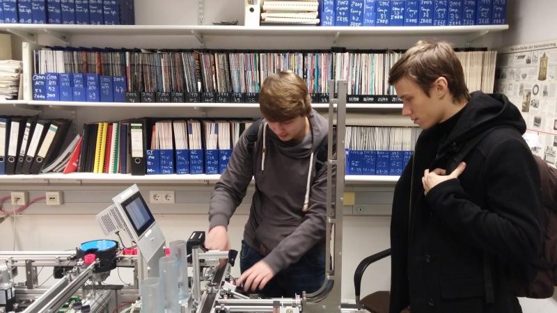 Работа над проектом с Университетом Emden/Leer