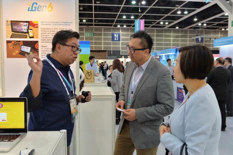 Выставка SmartBizExpo в Гонконге. Источник: csaa.hk