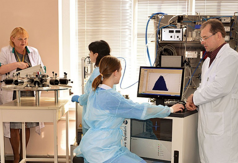 Federal Medical-Biological Agency's Institute of Toxicology. Credit: ktovmedicine.ru
