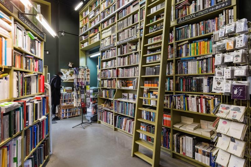 Bookstores of St  Petersburg