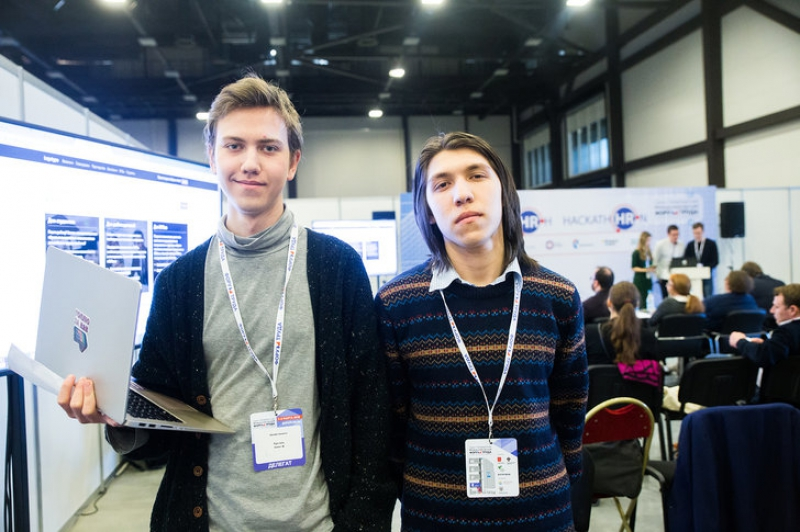 Oleg Busel and Emil Sataev