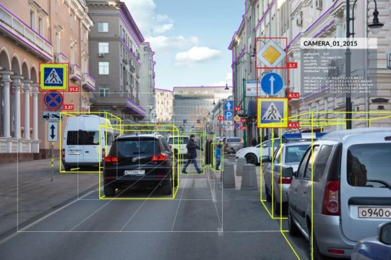 Принцип работы беспилотных автомобилей. Источник: robogeek.ru