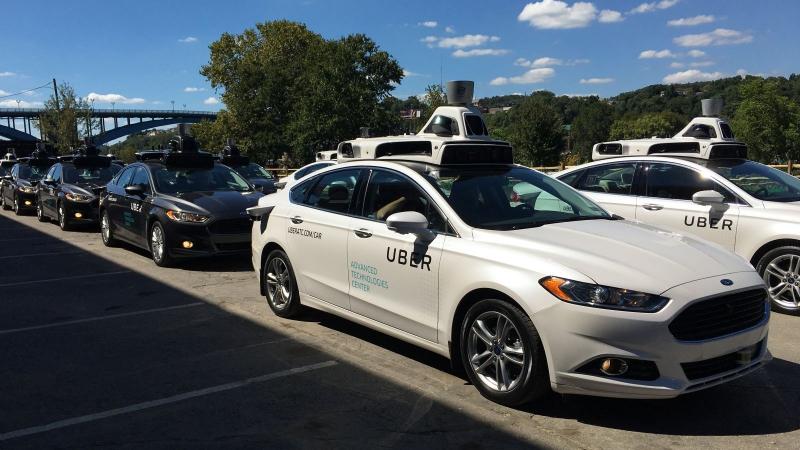 Беспилотные такси. Источник: tehnot.com