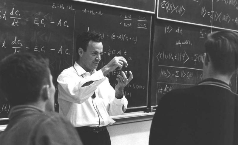 Richard Feynman. Credir: twitter.com