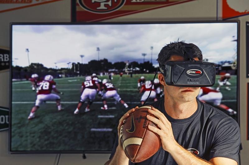 VR в спорте. Источник: zdnet.com