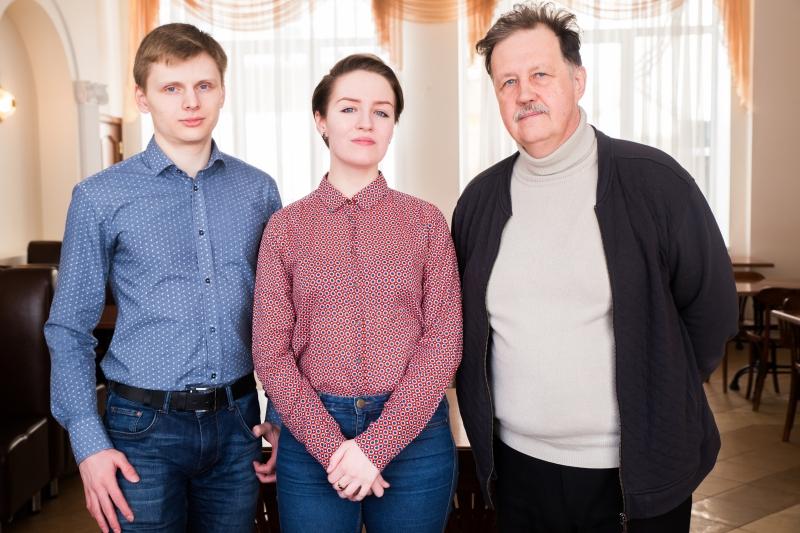 Никита Тепляков, Татьяна Вовк и  Юрий Рождественский