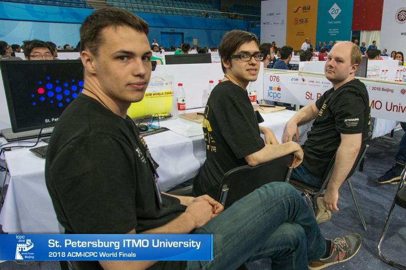 Команда Университета ИТМО