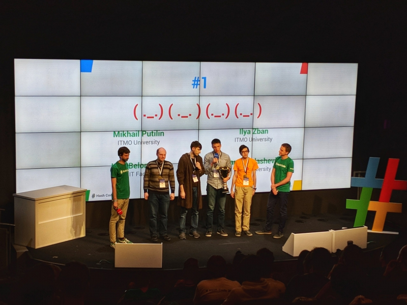 ITMO University team at Google Hash Code-2018