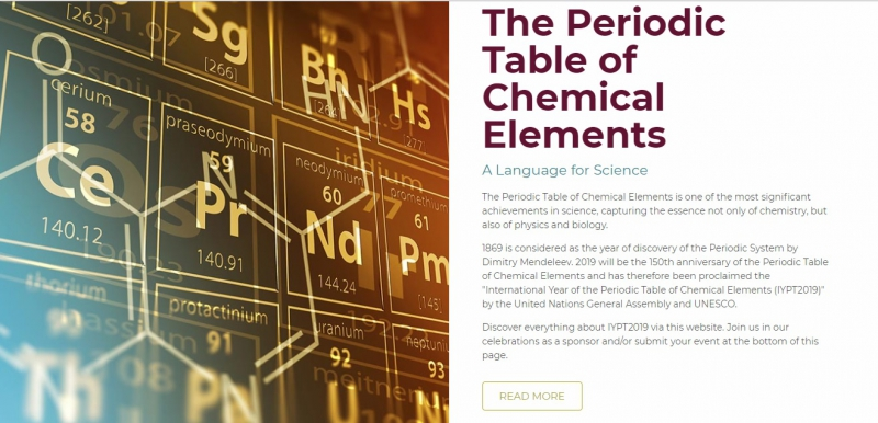 periodic table 2019