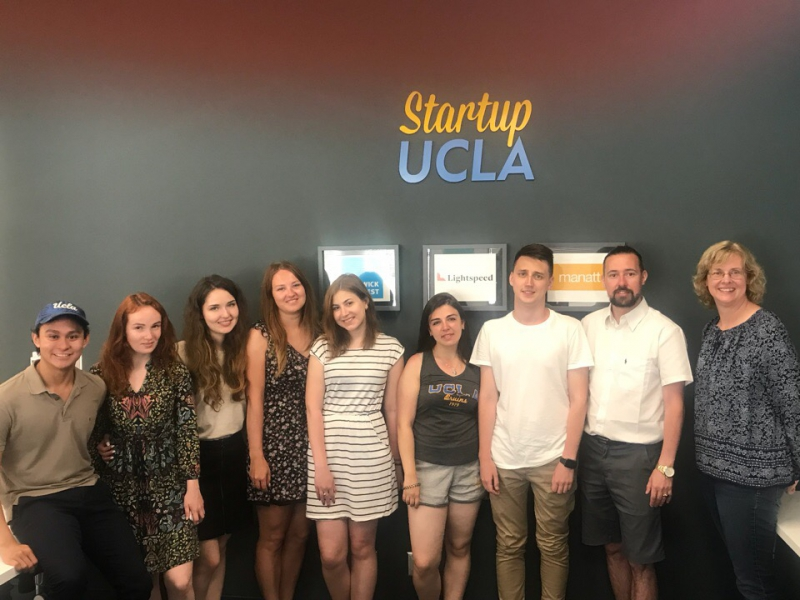 ITMO's delegation at UCLA